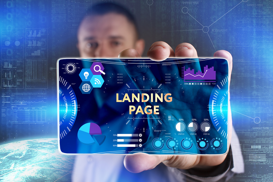 Landing page Lead generation forms